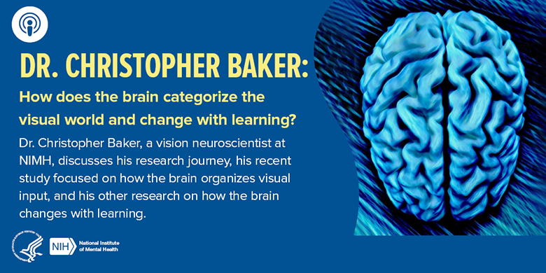 NIMH IRP Podcast with Dr. Christopher Baker: How does the brain categorize the visual world and change with learning?