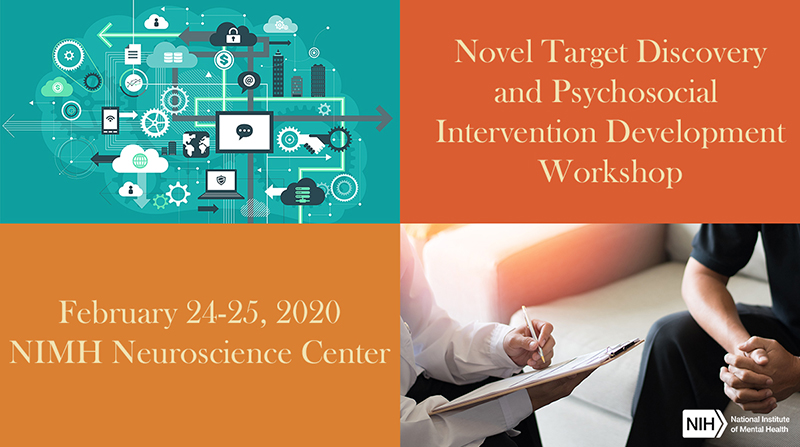 poster image for NIMH Novel Target Discovery and Psychosocial Intervention Development Workshop